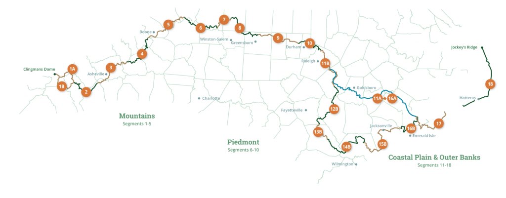 MST map