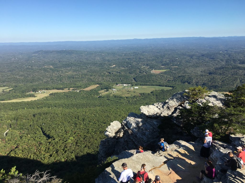 A view from Moore's Knob